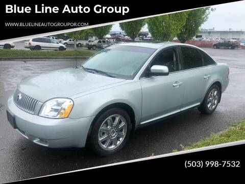 2007 Mercury Montego for sale at Blue Line Auto Group in Portland OR
