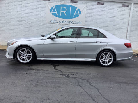 2014 Mercedes-Benz E-Class for sale at ARIA  AUTO  SALES in Raleigh NC