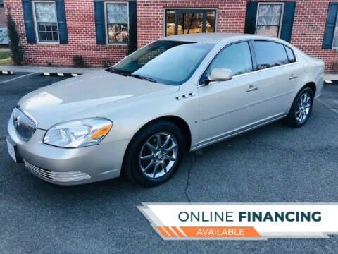 2007 Buick Lucerne for sale at White Top Auto in Warrenton VA