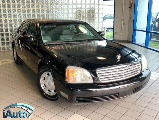 2002 Cadillac DeVille for sale at iAuto in Cincinnati OH