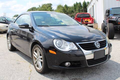 2009 Volkswagen Eos for sale at UpCountry Motors in Taylors SC