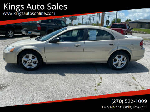 2005 Dodge Stratus for sale at Kings Auto Sales in Cadiz KY