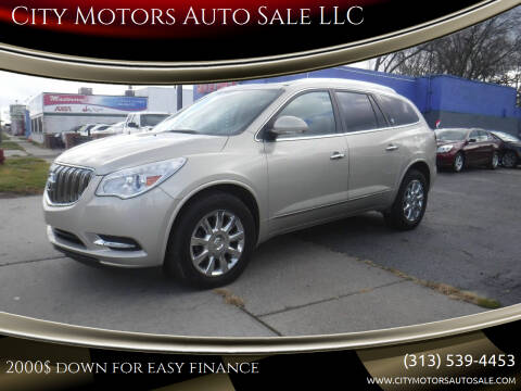 2013 Buick Enclave for sale at City Motors Auto Sale LLC in Redford MI