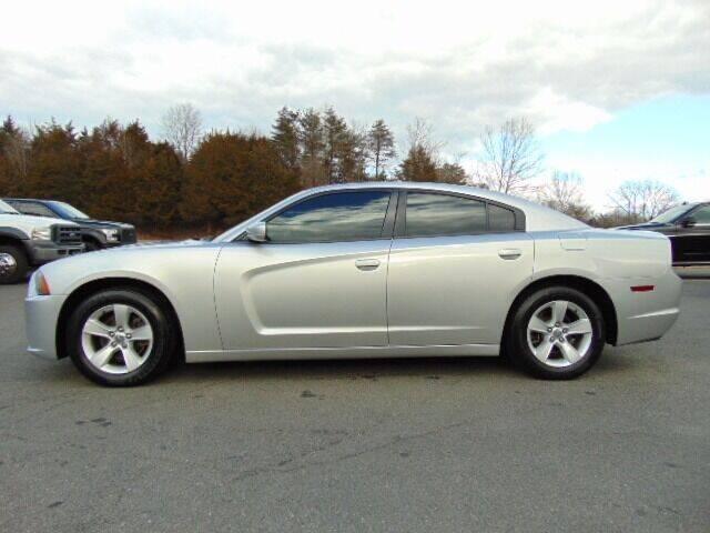 2012 Dodge Charger for sale at E & M AUTO SALES in Locust Grove VA