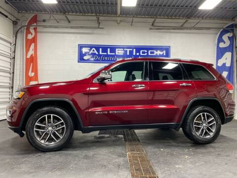 2017 Jeep Grand Cherokee for sale at Falleti Motors, Inc.  est. 1976 in Batavia NY