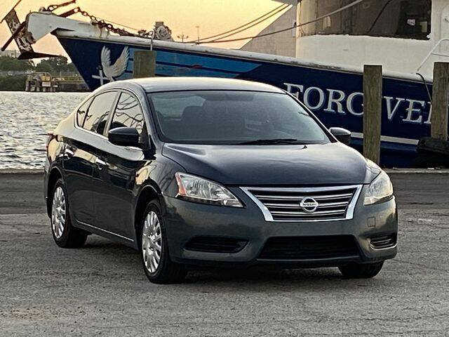 2013 Nissan Sentra for sale at Pioneers Auto Broker in Tampa FL