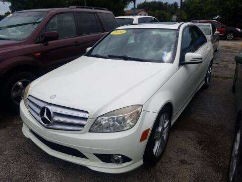 2010 Mercedes-Benz C-Class for sale at P S AUTO ENTERPRISES INC in Miramar FL