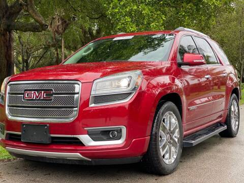 2014 GMC Acadia for sale at HIGH PERFORMANCE MOTORS in Hollywood FL