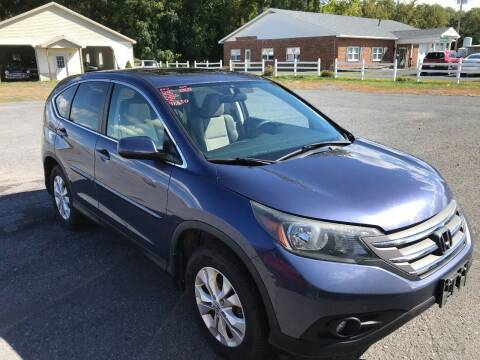 2013 Honda CR-V for sale at RJD Enterprize Auto Sales in Scotia NY