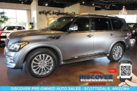 2017 Infiniti QX80 for sale at Discover Pre-Owned Auto Sales in Scottsdale AZ