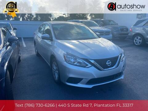 2019 Nissan Sentra for sale at AUTOSHOW SALES & SERVICE in Plantation FL