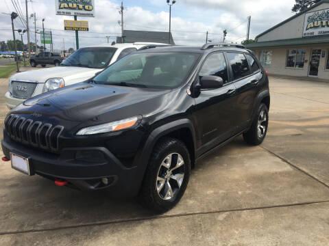 2014 Jeep Cherokee for sale at ARKLATEX AUTO in Texarkana TX