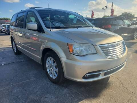 2014 Chrysler Town and Country for sale at America Auto Wholesale Inc in Miami FL