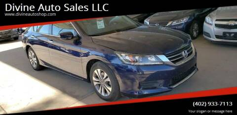 2015 Honda Accord for sale at Divine Auto Sales LLC in Omaha NE