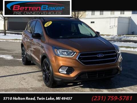 2017 Ford Escape for sale at Betten Baker Preowned Center in Twin Lake MI