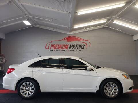 2014 Chrysler 200 for sale at Premium Motors in Villa Park IL