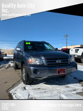 2004 Toyota Highlander for sale at Quality Auto City Inc. in Laramie WY
