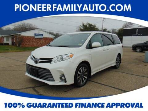 2019 Toyota Sienna for sale at Pioneer Family auto in Marietta OH