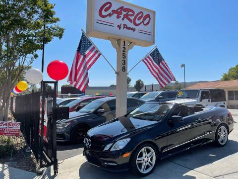 2012 Mercedes-Benz E-Class for sale at CARCO SALES & FINANCE - CARCO OF POWAY in Poway CA