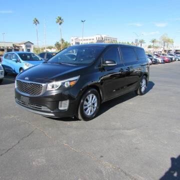 2015 Kia Sedona for sale at Charlie Cheap Car in Las Vegas NV