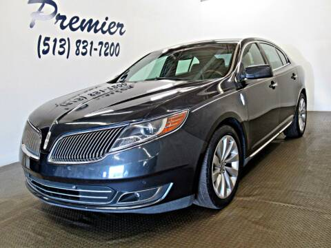 2014 Lincoln MKS for sale at Premier Automotive Group in Milford OH