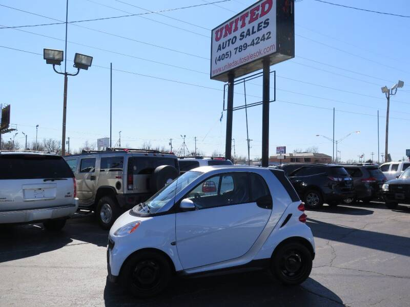 2014 Smart fortwo for sale at United Auto Sales in Oklahoma City OK