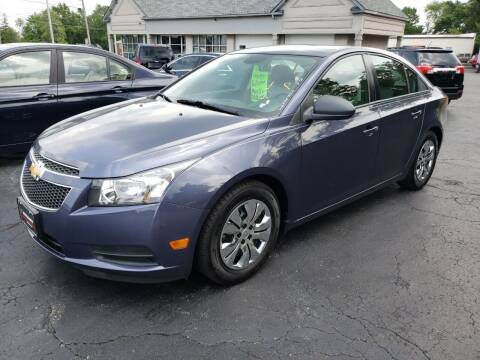 2013 Chevrolet Cruze for sale at STRUTHER'S AUTO MALL in Austintown OH