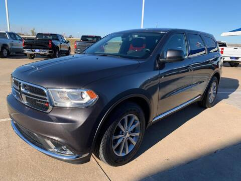 2018 Dodge Durango for sale at JOHN HOLT AUTO GROUP, INC. in Chickasha OK
