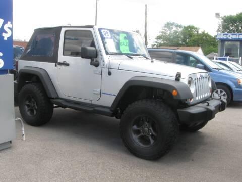2009 Jeep Wrangler for sale at MCQUISTON MOTORS in Wyandotte MI