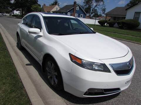 2012 Acura TL for sale at First Choice Automobile in Uniondale NY