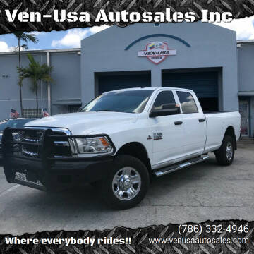 2017 RAM Ram Pickup 2500 for sale at Ven-Usa Autosales Inc in Miami FL
