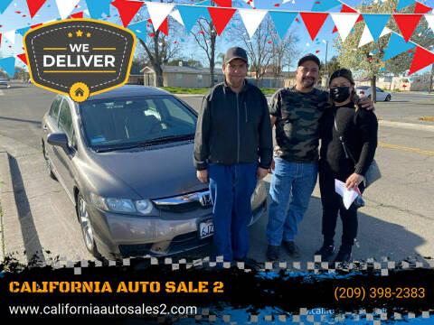 2009 Honda Civic for sale at CALIFORNIA AUTO SALE 2 in Livingston CA