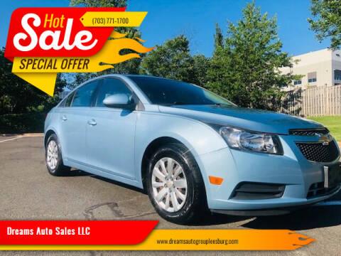 2011 Chevrolet Cruze for sale at Dreams Auto Sales LLC in Leesburg VA