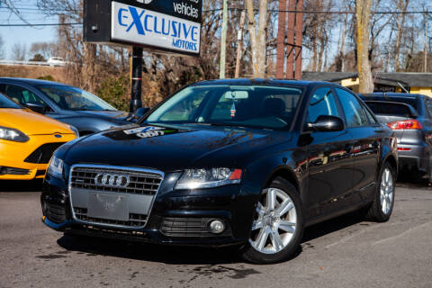 2011 Audi A4 for sale at EXCLUSIVE MOTORS in Virginia Beach VA