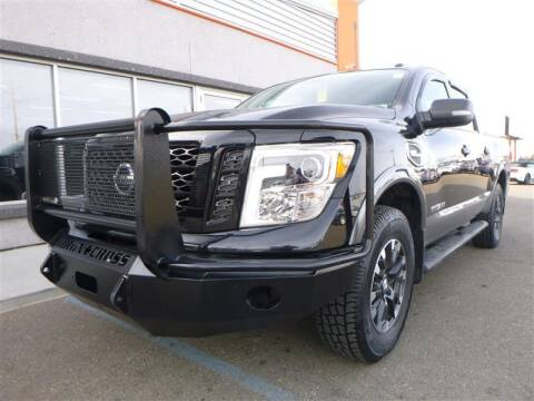 2017 Nissan Titan for sale at Torgerson Auto Center in Bismarck ND