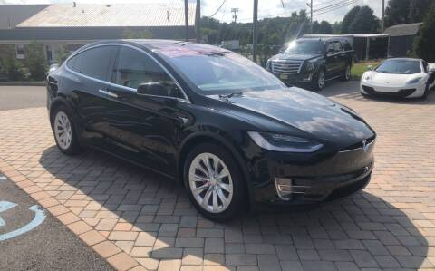 2018 Tesla Model X for sale at Shedlock Motor Cars LLC in Warren NJ