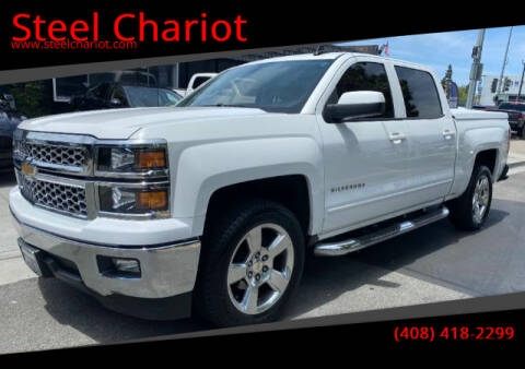 2015 Chevrolet Silverado 1500 for sale at Steel Chariot in San Jose CA