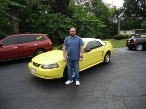 2003 Ford Mustang for sale at HOGSTEN AUTO WHOLESALE in Ocala FL