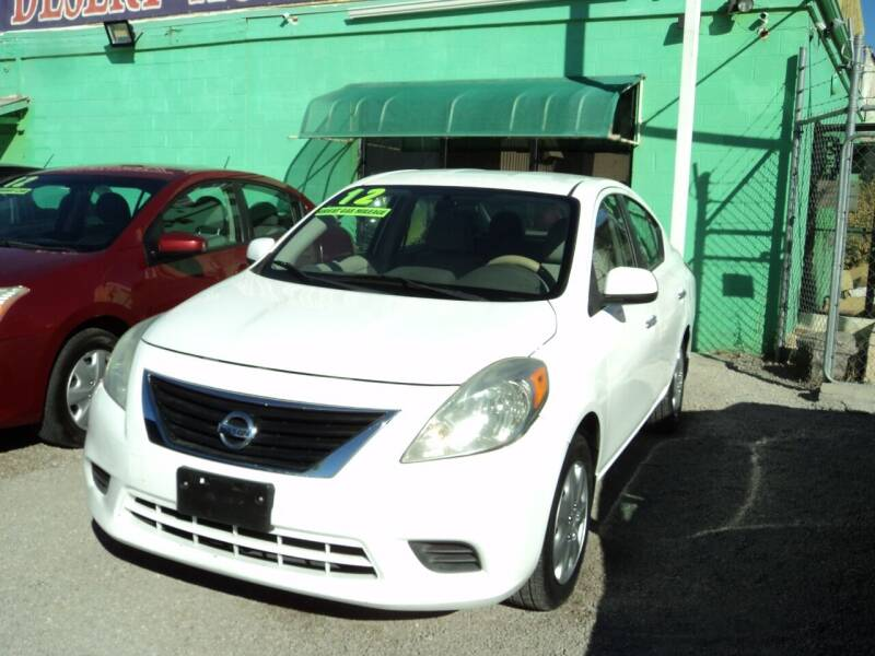 2012 Nissan Versa for sale at DESERT AUTO TRADER in Las Vegas NV
