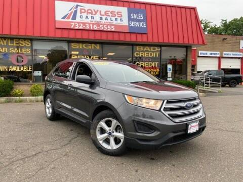 2018 Ford Edge for sale at PAYLESS CAR SALES of South Amboy in South Amboy NJ
