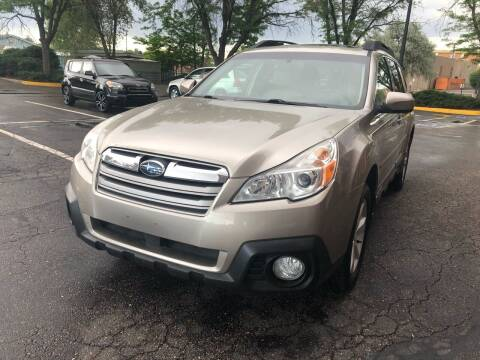 2014 Subaru Outback for sale at Modern Auto in Denver CO