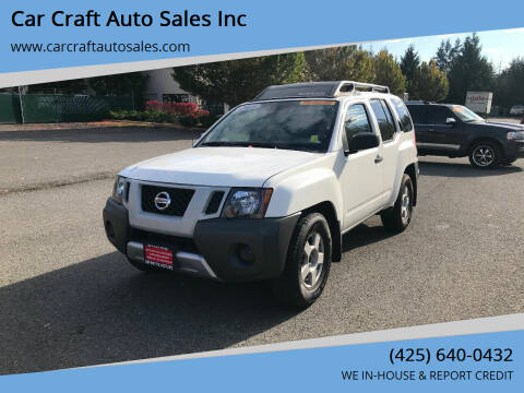 2015 Nissan Xterra for sale at Car Craft Auto Sales Inc in Lynnwood WA