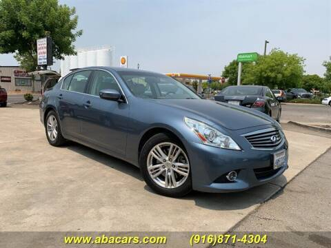 2010 Infiniti G37 Sedan for sale at About New Auto Sales in Lincoln CA