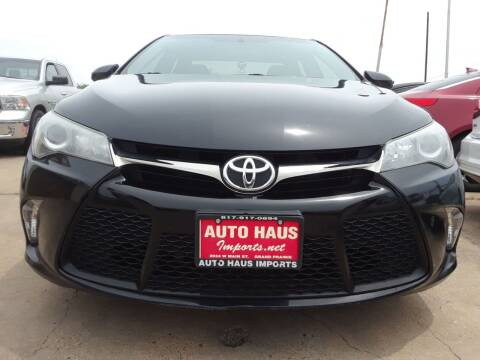 2015 Toyota Camry for sale at Auto Haus Imports in Grand Prairie TX