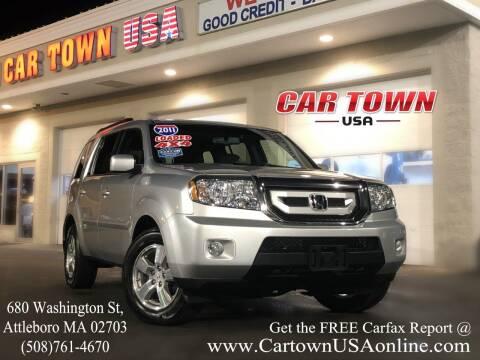 2011 Honda Pilot for sale at Car Town USA in Attleboro MA