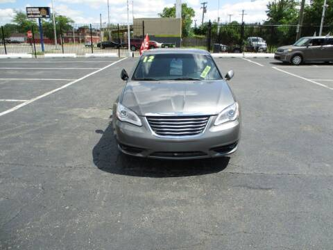 2012 Chrysler 200 for sale at Highway Auto Sales in Detroit MI