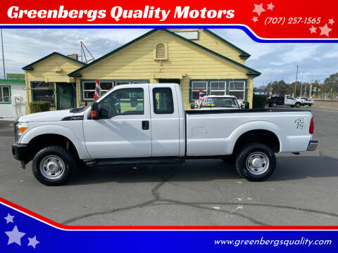 2011 Ford F-350 Super Duty for sale at Greenbergs Quality Motors in Napa CA