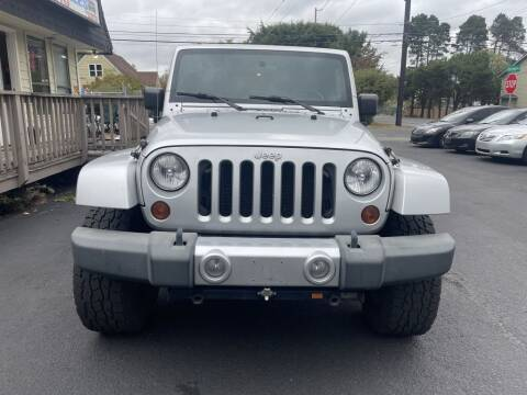 2008 Jeep Wrangler Unlimited for sale at Life Auto Sales in Tacoma WA