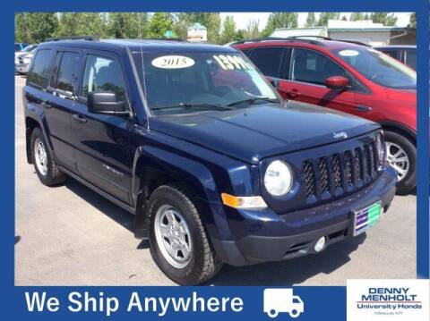 2015 Jeep Patriot for sale at Carmart 360 Missoula in Missoula MT