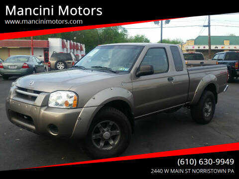 2004 Nissan Frontier for sale at Mancini Motors in Norristown PA